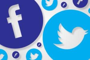 Social Media Icons Banner