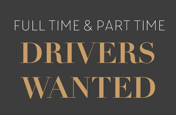 Full and Part Time Chauffeurs Wanted